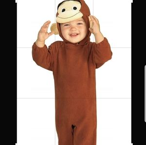 NWT New Curious George Halloween Costume size1